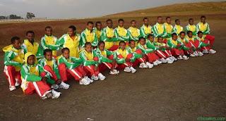 Ethiopia Athletes 2013 Moscow