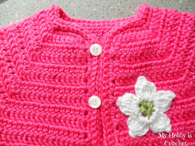 My Hobby Is Crochet: Toddler Short Sleeved Cardigan Twin ...