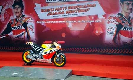 Honda RC213V Marc Marquez di Sentul
