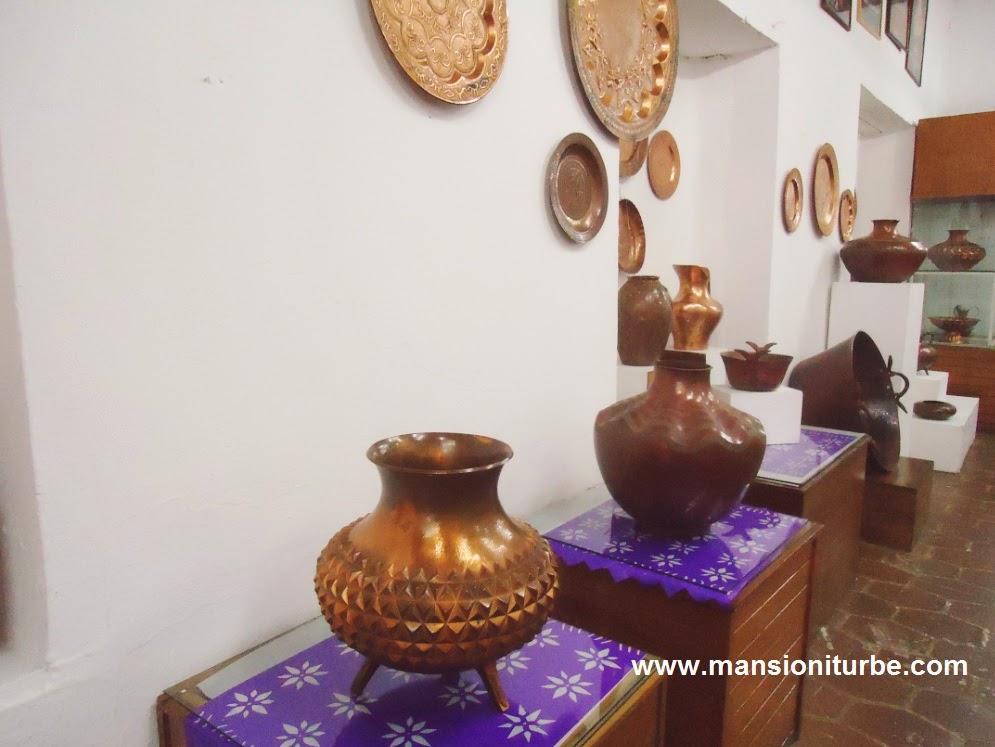 National Copper Museum in Santa Clara del Cobre, Michoacan