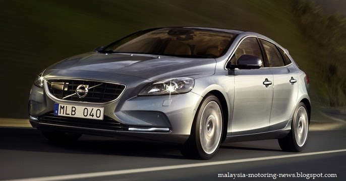 Malaysia Motoring News: Volvo V40 - details and gallery