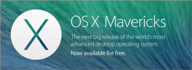 OS X Mountain Lion to Mavericks