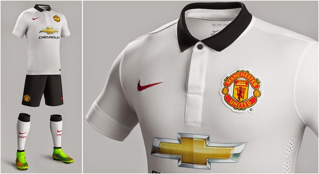 Player Version Manchester United Away Season 2014-2015