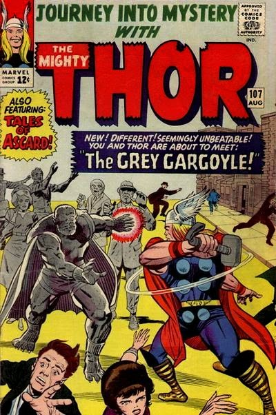 Journey into Mystery #107, Thor and the Grey Gargoyle
