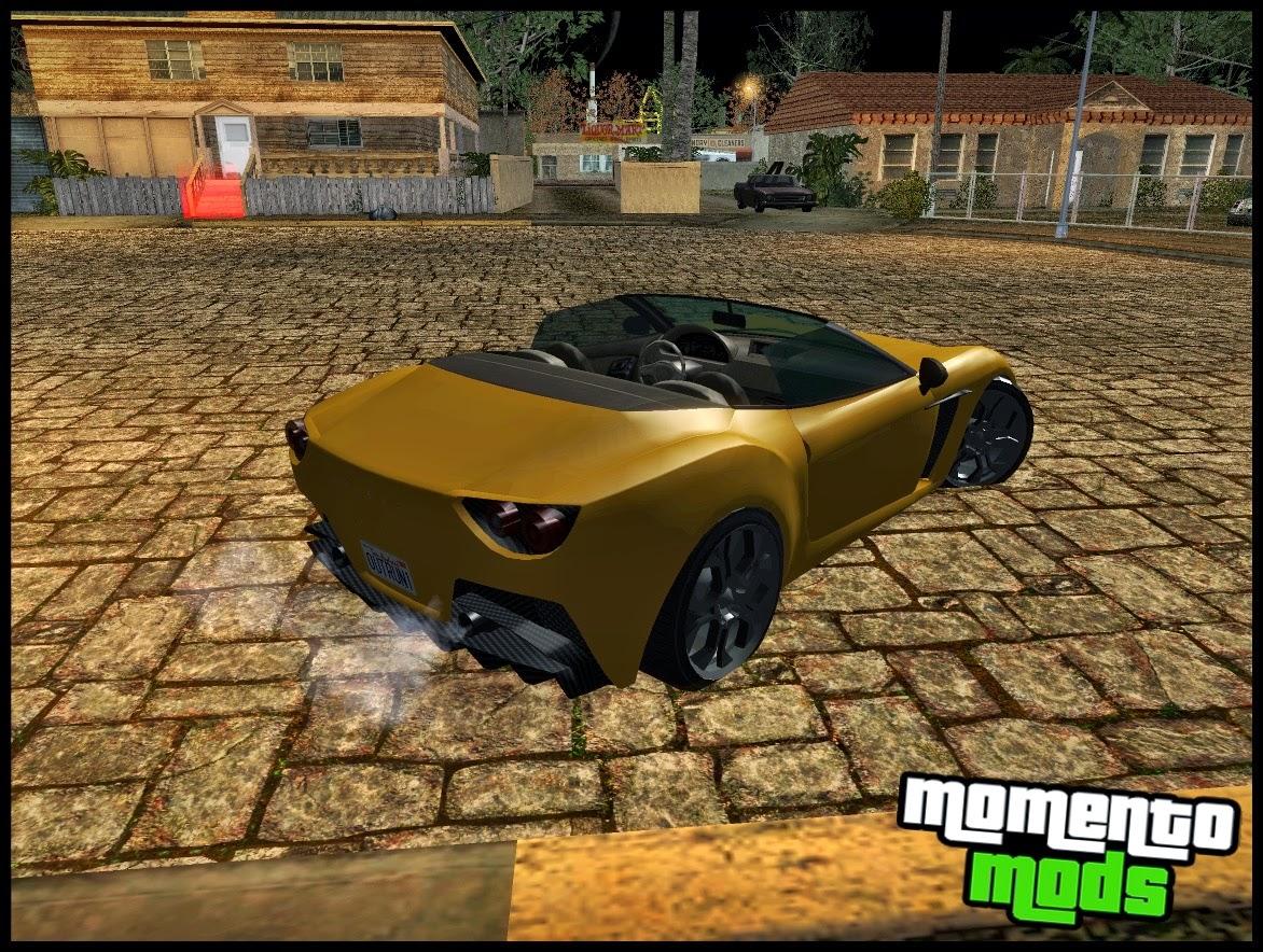 GTA SA - Carbonizzare Do GTA V