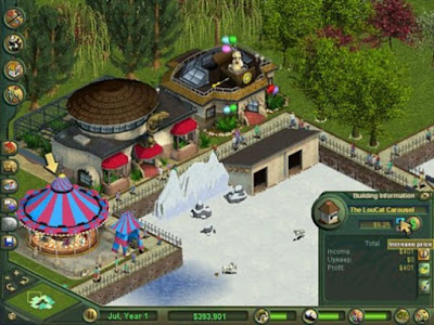 Zoo Tycoon 1 Games Screenshot