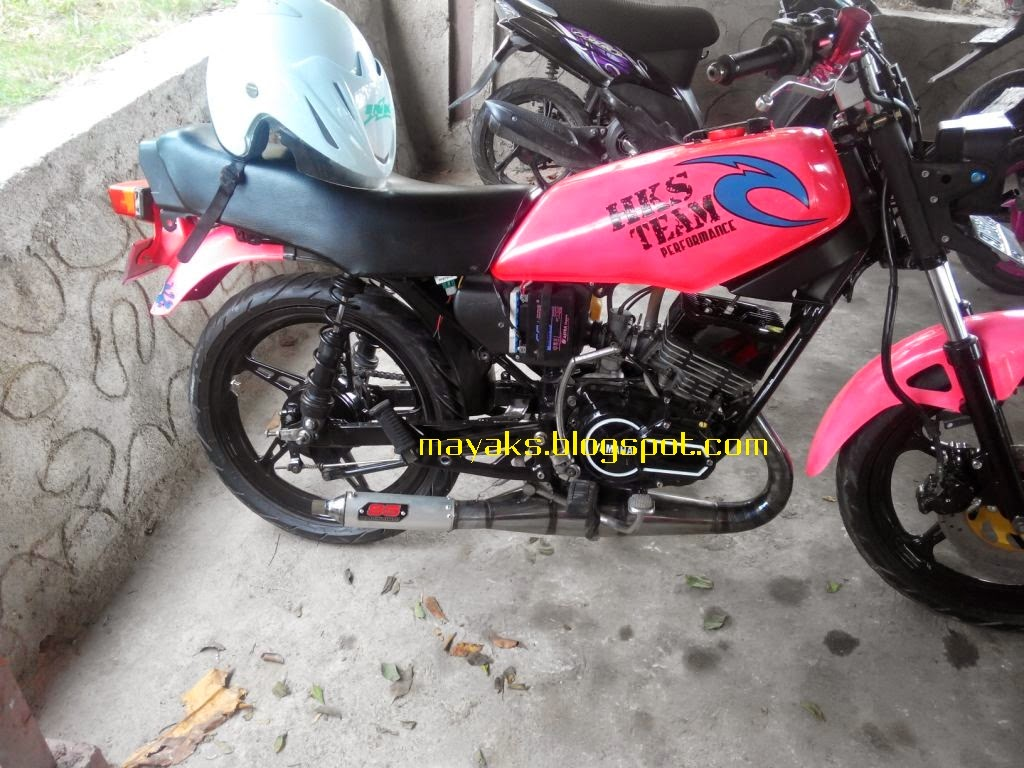 knalpot racing RX-king, modifikasi RX-king