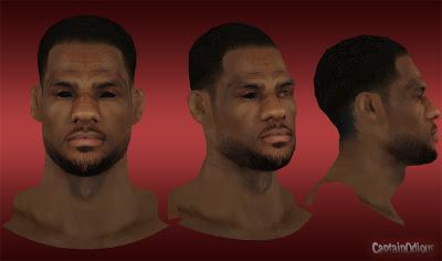 NBA 2K13 LeBron James Afro Hair Mod