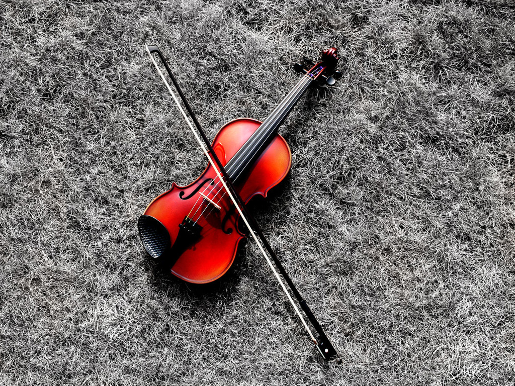 cool 3d wallpaper violin - photo #18