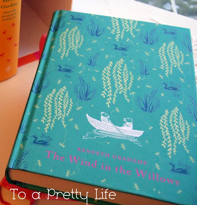 the wind in the willows, turquoise, book, puffin classics
