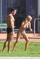 Joanna Krupa Coquettish Bikini Miami