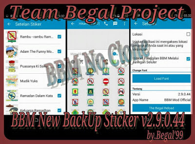 BBM Free Sticker 2.9.0.45 APK Terbaru 2015