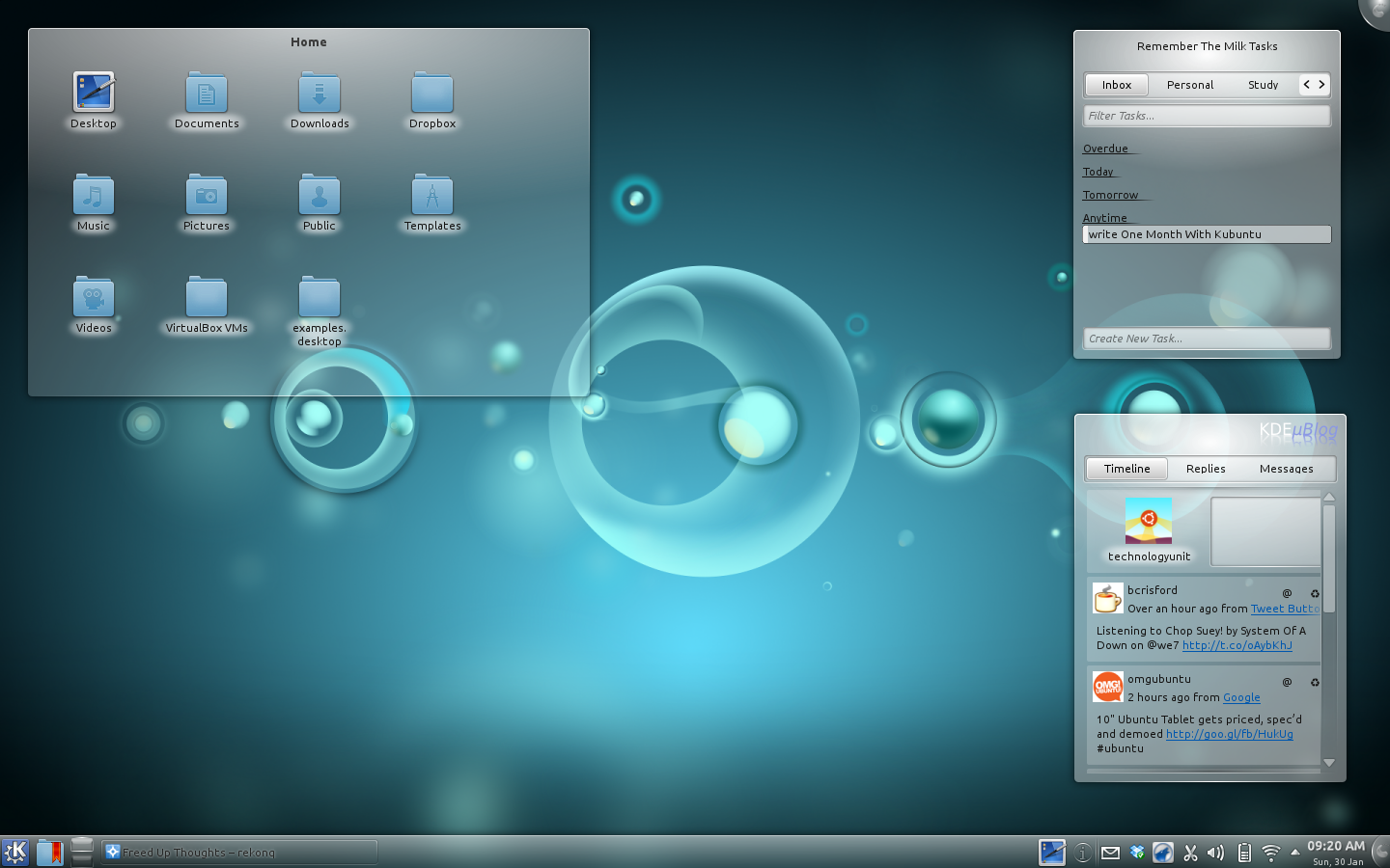 Good Bye Gnome, Hello KDE - Freed Up Thoughts