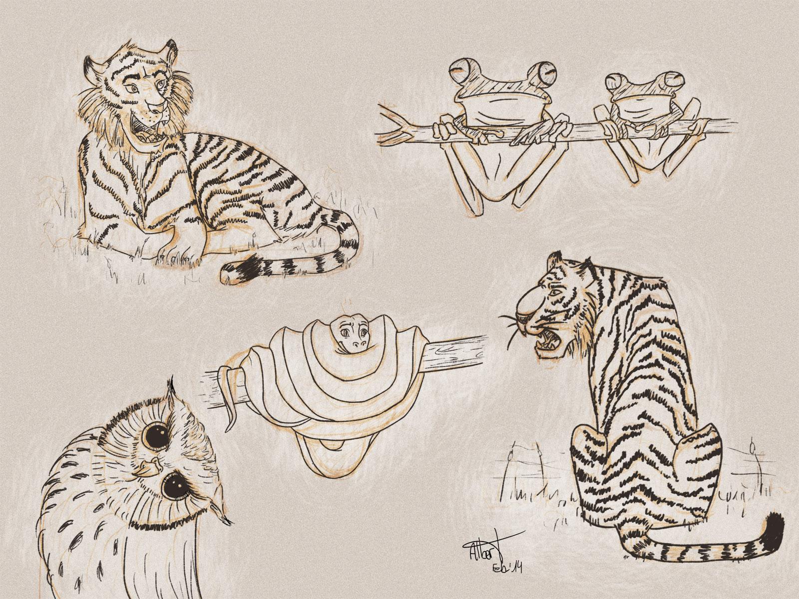 AnimalesVariados - Albert Casado (nfok-e)