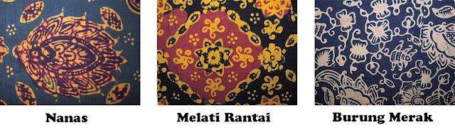 merak ngeram dan tampok manggis berikut ini adalah motif motif batik ...
