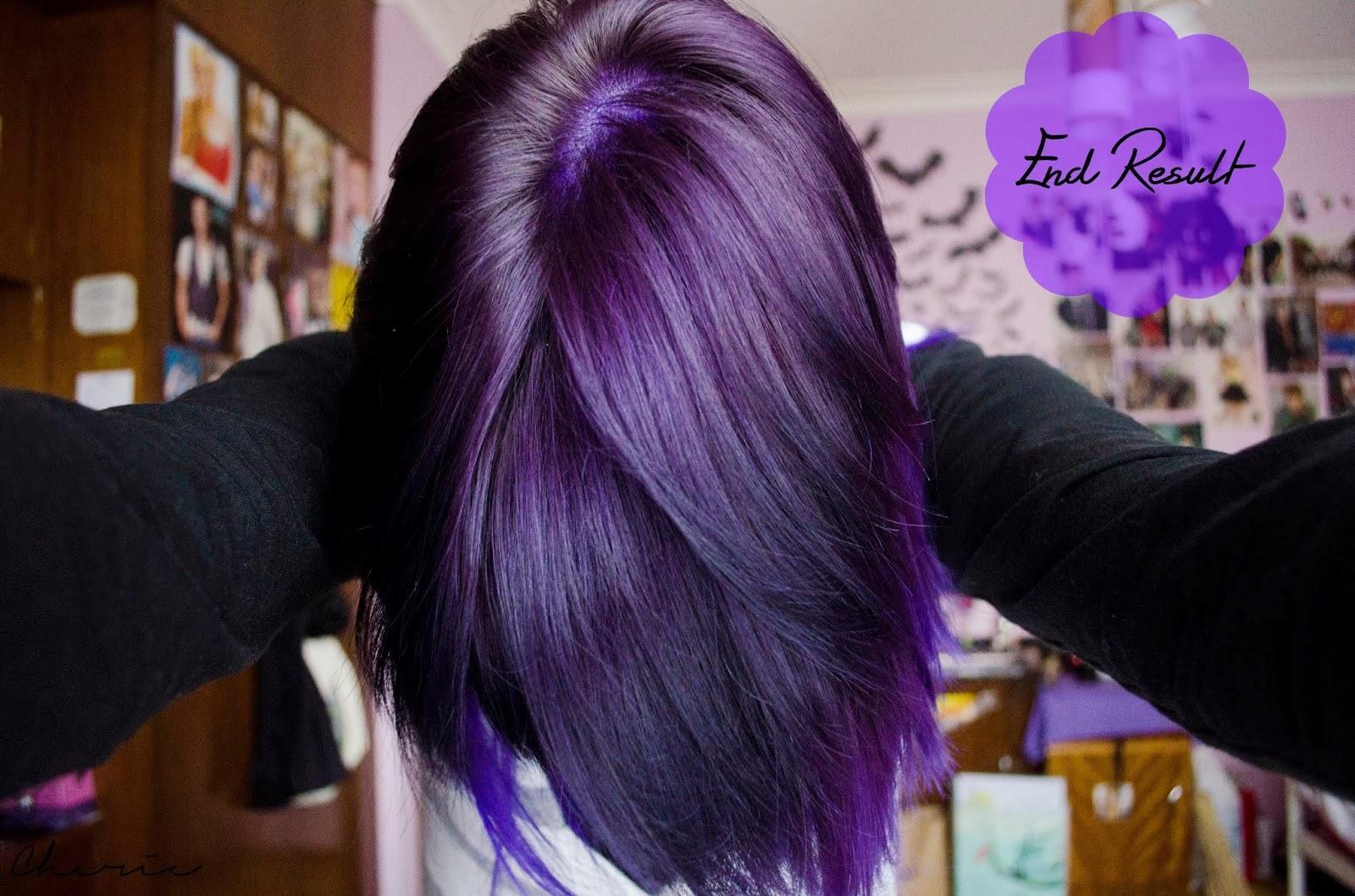 Purple Tinted Hair How to: maintain purple hair