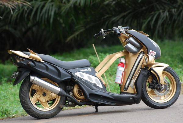 Kumpulan Modifikasi Motor Yamaha Mio title=