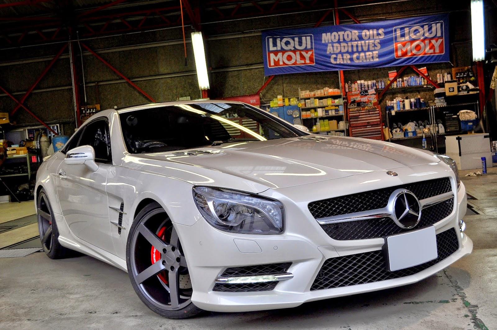 Mercedes benz r231 sl550 on vossen wheels benztuning for Mercedes benz custom rims