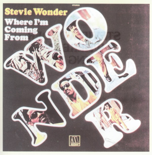 Stevie Wonder - Where I'm Coming From (1971)