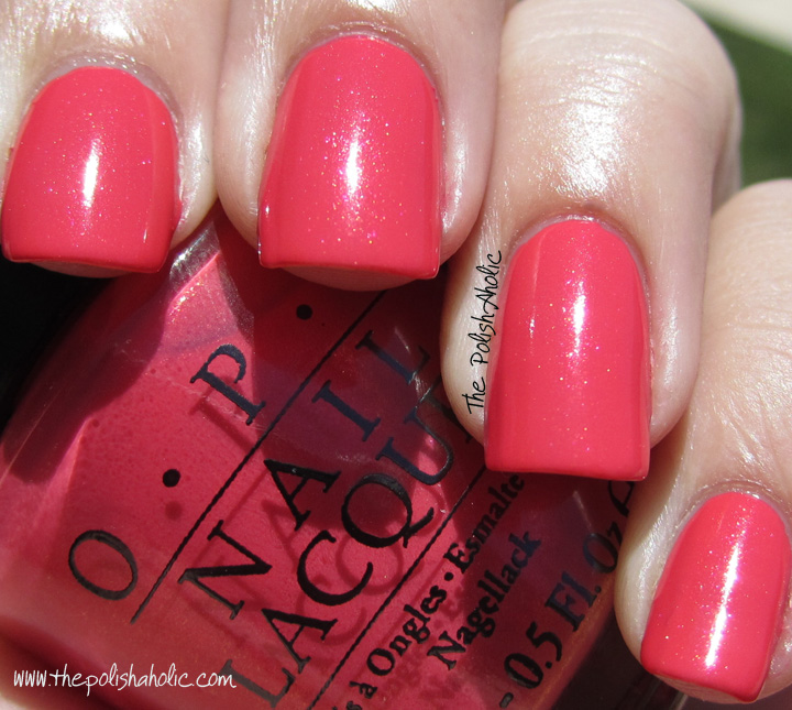 Opi I Eat Mainely Lobster Dupe
