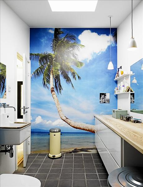 To da loos trompe l oeil bathroom walls