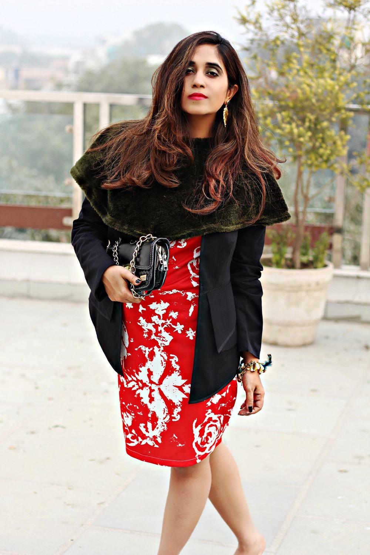 top 10 insta bloggers of india ,manish arora dress
