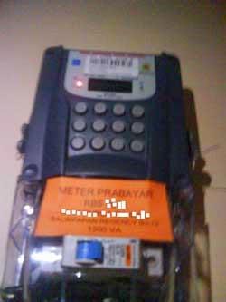 Sebab-Sebab Meteran Prabayar Periksa-giga watt