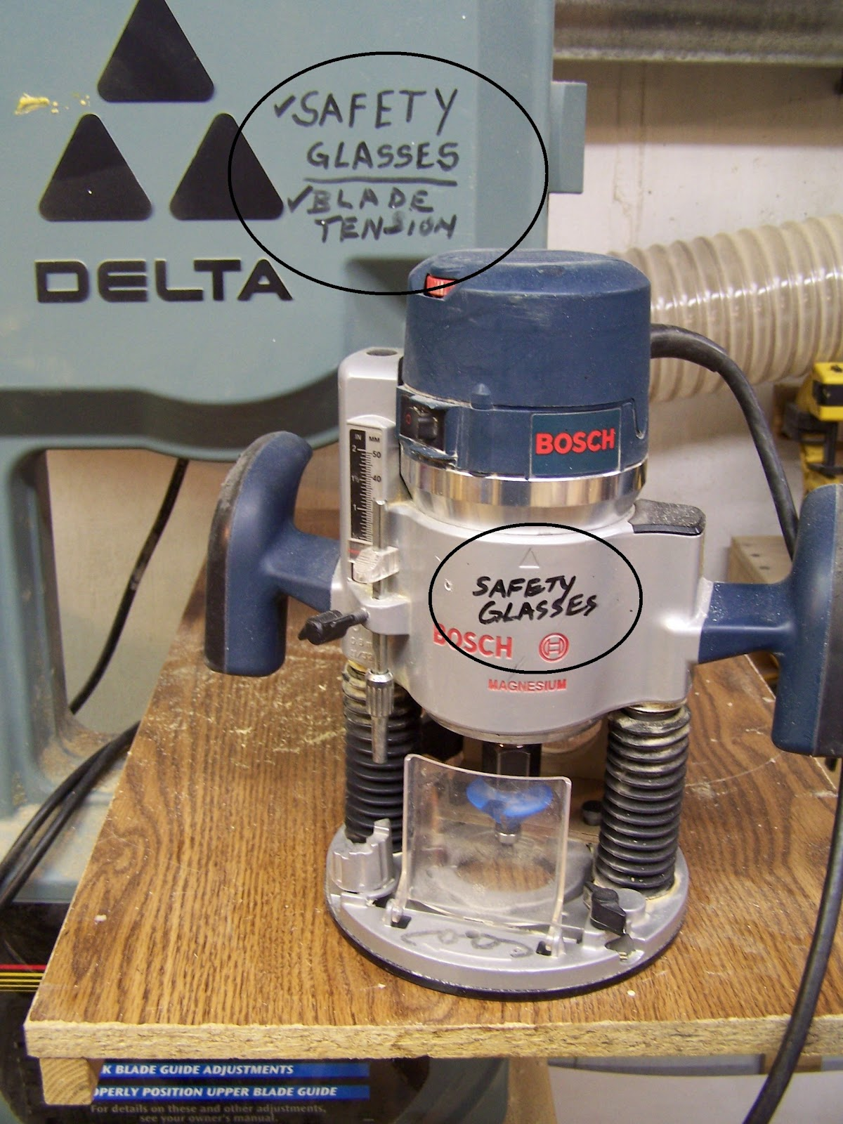 Woodworking router safety tips video