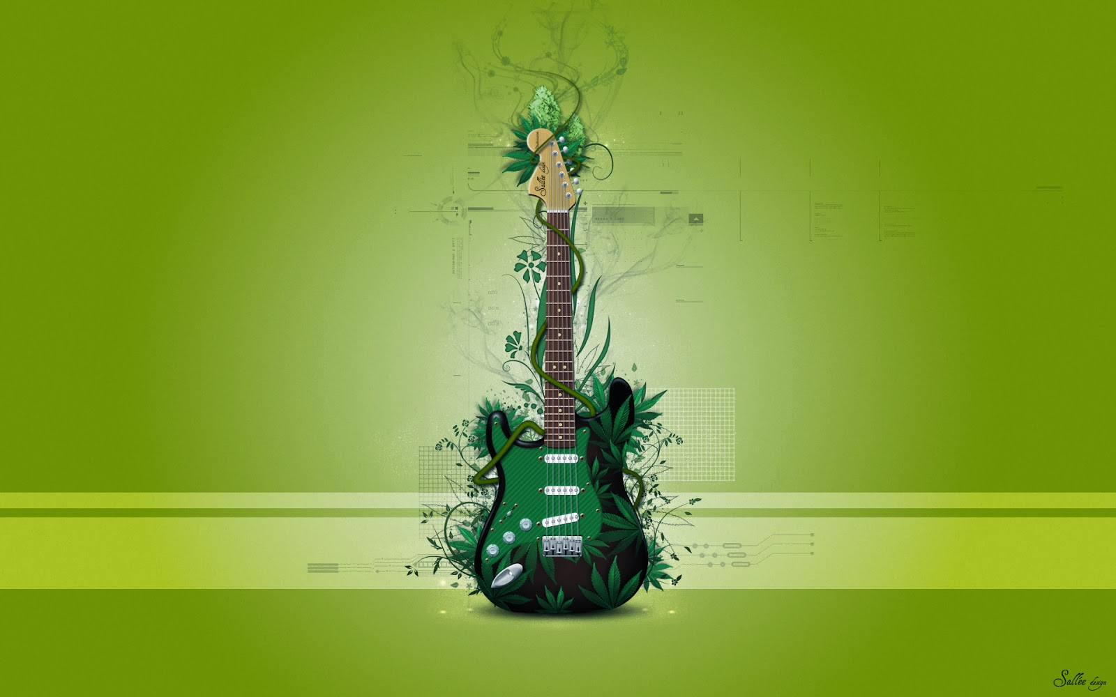 Beautiful   Wallpaper Home Screen Music - Green+Guitar+Pictures+Music+Wallpapers++20141  Perfect Image Reference_436878.jpg