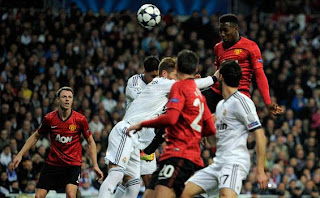 Foto Manchester United vs Real Madrid Terbaru Maret 2013