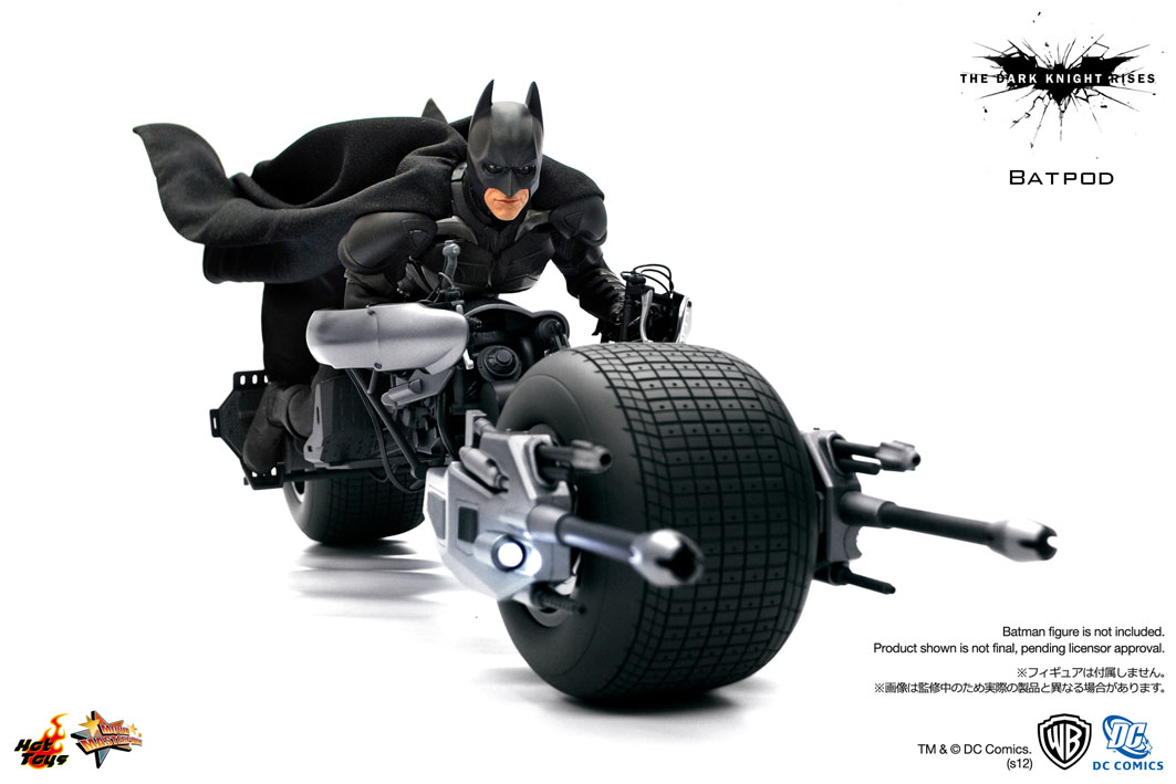 The dark knight batpod toy - photo#1