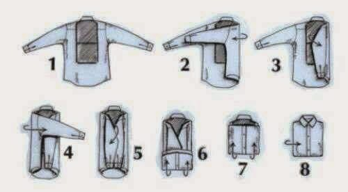 Dress Folding Step By Step Tutorial