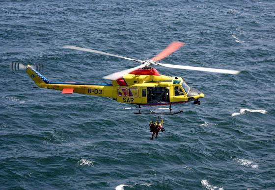 AB 412 SAR helikopter