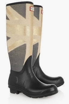 Hunter Union Jack boots