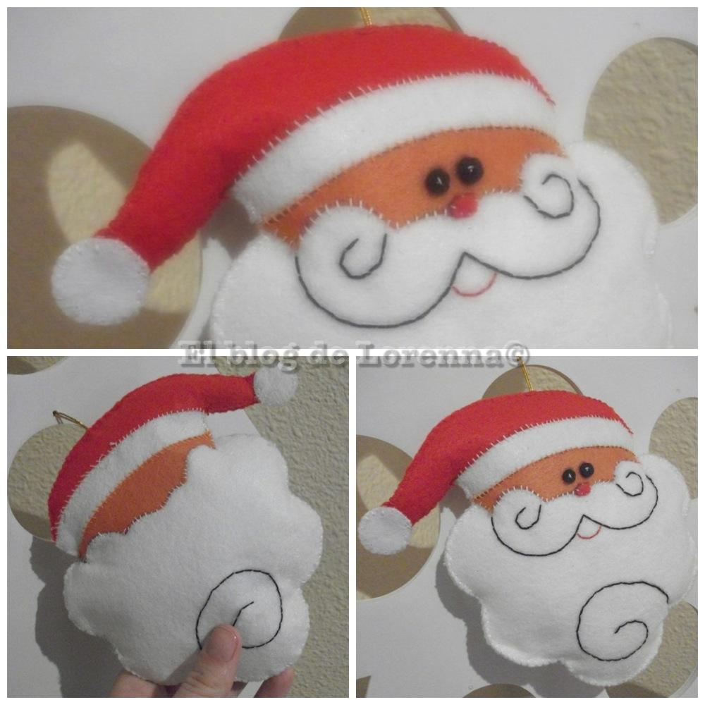 El blog de lorenna adornos caseros para navidad con fieltro - Adornos para el arbol de navidad caseros ...