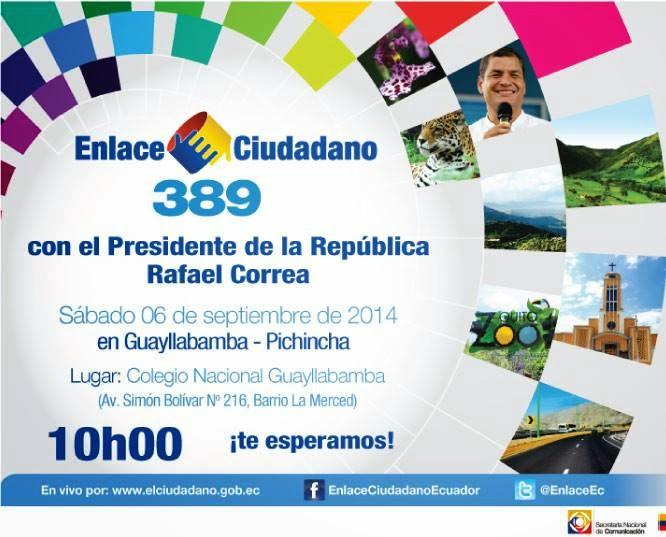 #Enlace389 Sabatina de Correa 6 septiembre