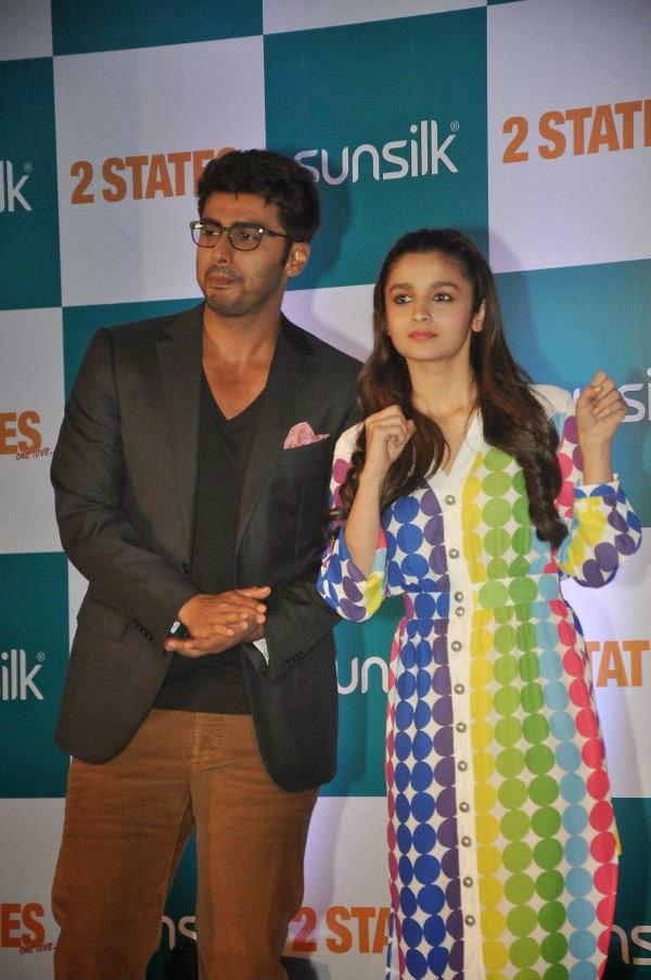 2 States Movie Promotion In Mumbai