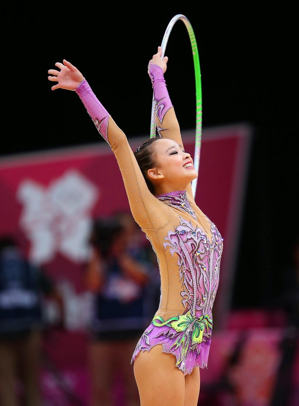 hot korean gymnast nude