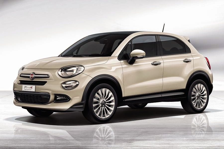 Fiat 500X (2015) Front Side