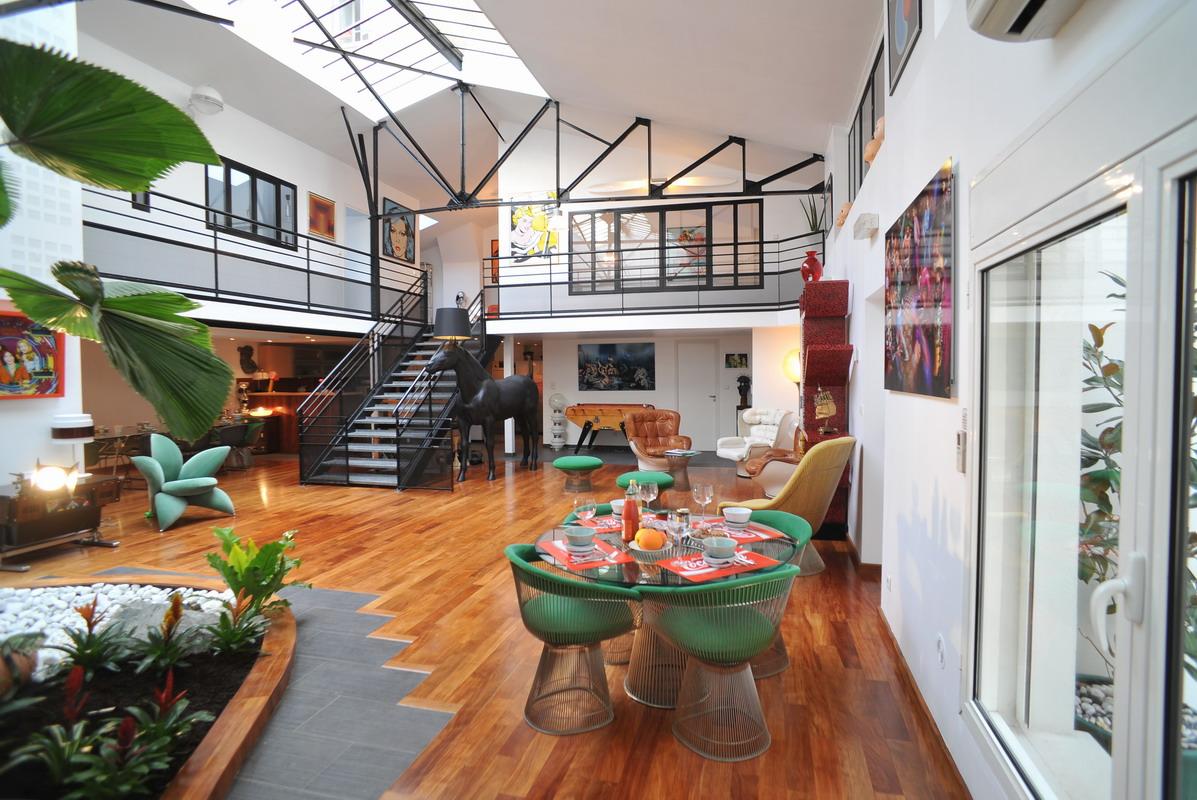 Invintage loft vintage en chambre d 39 h tes lyon - Deco chambre loft ...
