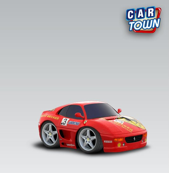 ferrari 355 berlinetta 1994 auto becker cartown templates and skins at cartown design. Black Bedroom Furniture Sets. Home Design Ideas