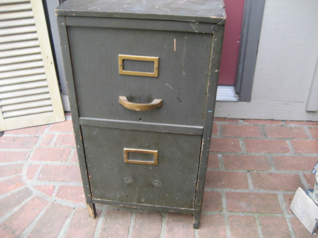 hope & salvage: Little Bed and file cabinet