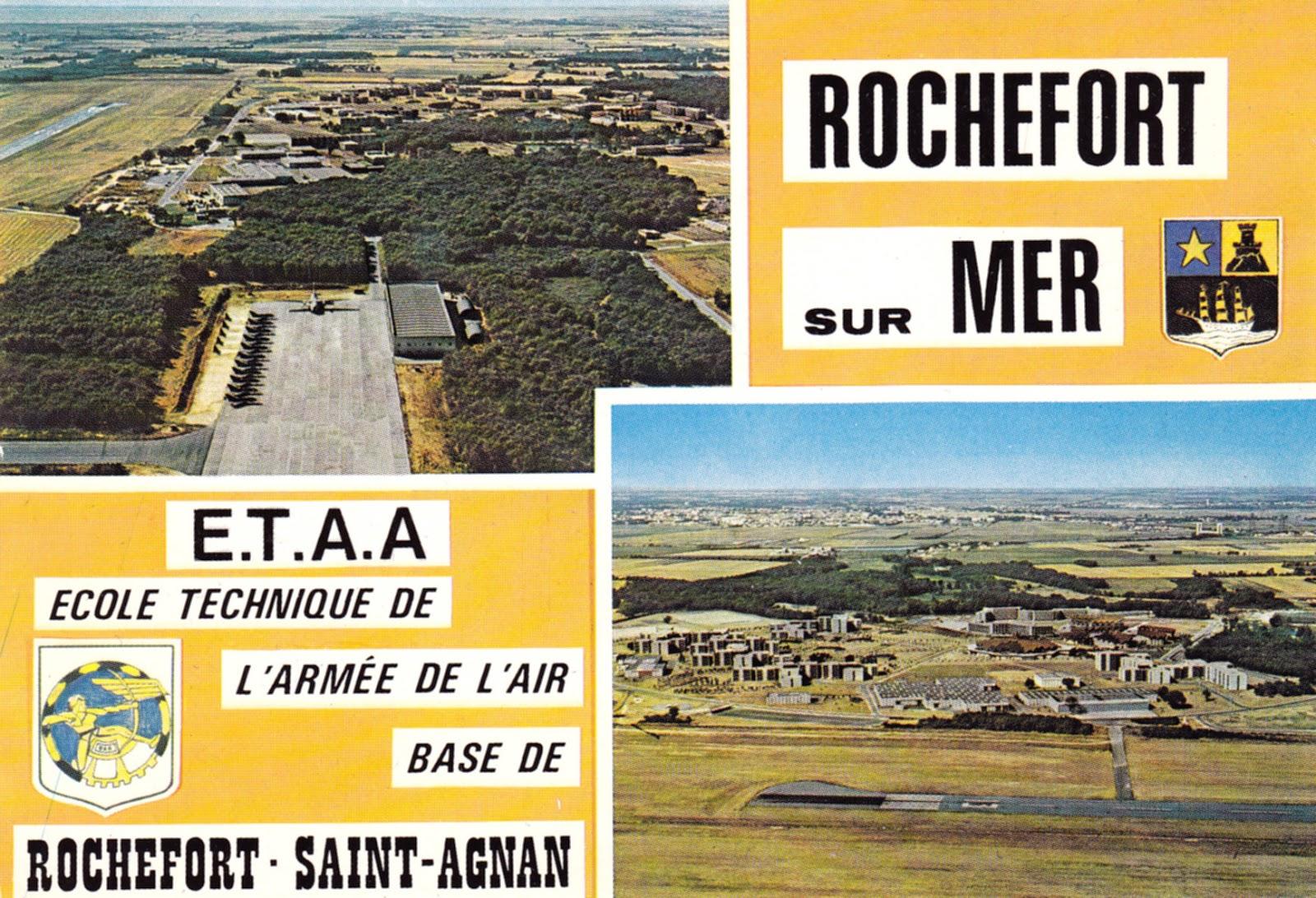 Philatelie et aviation militaire rochefort jpo 1982 - Porte ouverte base aerienne saint dizier 2017 ...