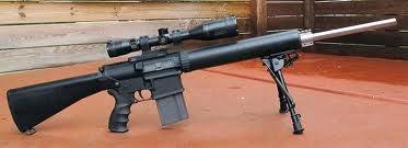 Armalite AR-10 (Senapan Sniper)