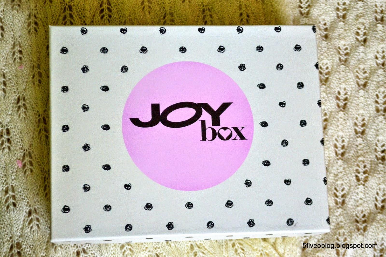 Pierwszy JOY BOX już u mnie :)
