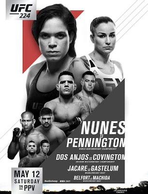 UFC 224 2018 Custom HD Dual Latino