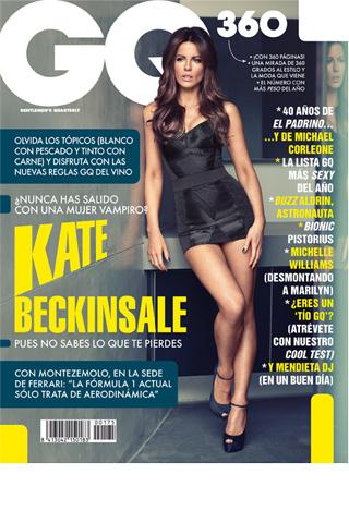 GQ, kate beckinsale, ferrari, formula 1, marilyn, topicos, El padrino, portada, marzo, 2012
