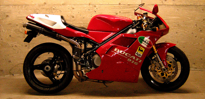 oddbike six years with a ducati 916. Black Bedroom Furniture Sets. Home Design Ideas