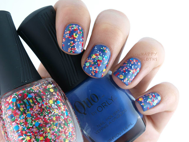 "Quo by Orly Fall 2015 Dance Party Collection: ""Blue Beat"" & ""Epic Remix"""
