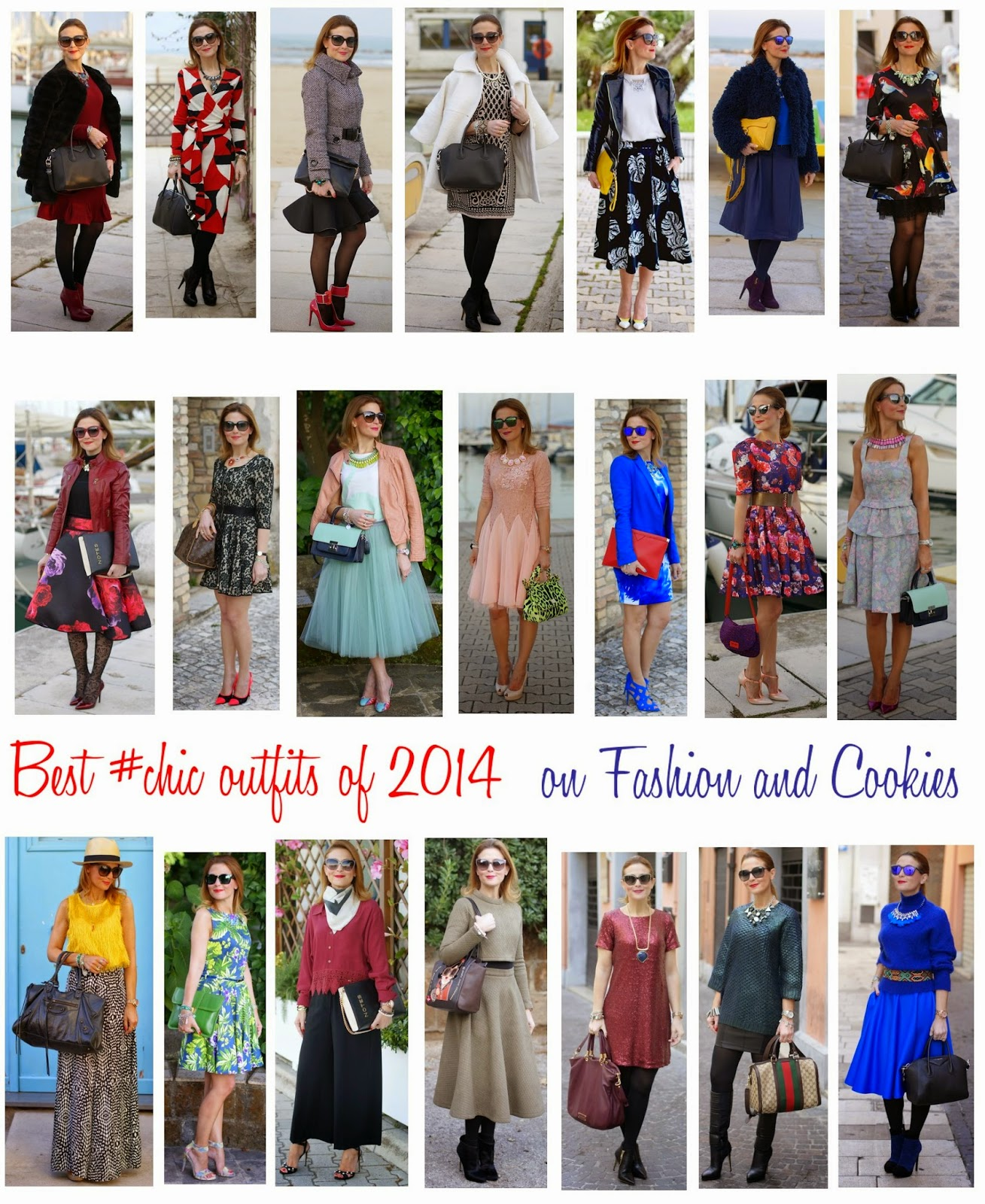 Welcome 2015, Happy New Year with Best Outfits of 2014 on Fashion and Cookies fashion blog